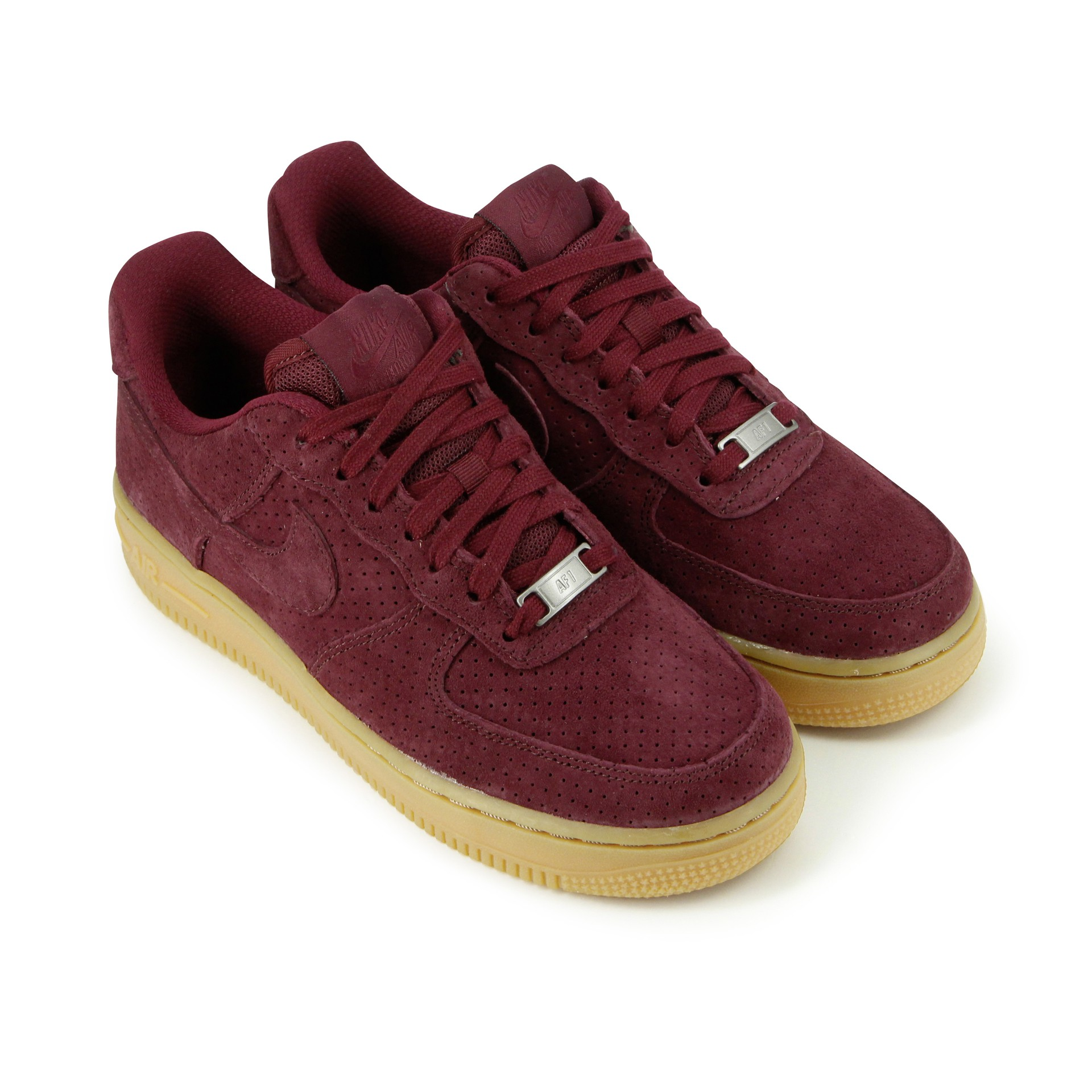 nike air force 1 suede femme gris
