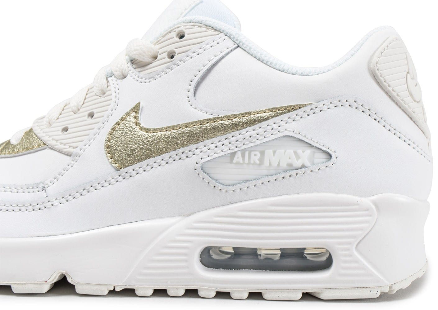 nike tn blanche et or femme